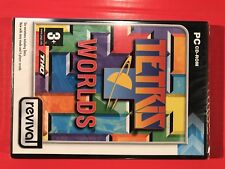 Tetris Worlds NEW PC Windows98/Me/2000/XP/x64 CD-rom puzzle games5031366050816UK