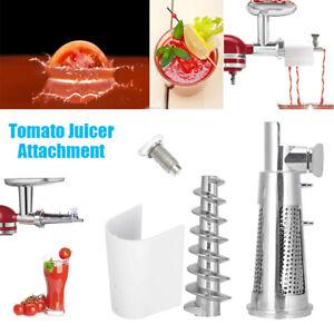 Fruit Vegetable Strainer Grinder Tomato Juicer Attachment For KitchenAid Mixer