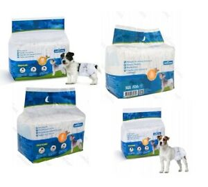 NOBLEZA PET DIAPERS  ANTIBACTERIAL DIFFERENT SIZES ULTRA-SOFT  HIGH-ABSORBENT