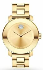 Movado Bold Swiss Gold Museum Dial Gold Ion-Plated Women's Watch 3600104