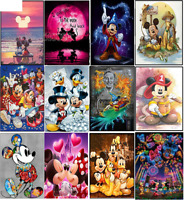 5D DIY Diamond Painting Disney Family Donald Mickey Wedding Wizard Full Drill