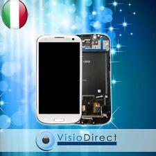 Schermo completo per Samsung Galaxy S3 i9305 Touch screen + Vetro Lcd + chassis