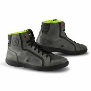 FALCO BLAZER 2 MOTORCYCLE RIDING BOOTS GREY CLEARANCE SALE
