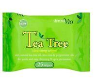 Tea Tree Cleansing Wipes 1 2 3 6 12 Packs