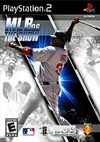 MLB 06 The Show - Baseball - (Everyone) - Sony PlayStation 2 PS2