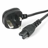 C5 Cable Lead / UK Type Plug for Laptop Adapter Dell Laptop Power Supply 2 Meter