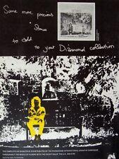 NEIL DIAMOND 1971 POSTER ADVERT STONES