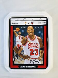 M. Jordan Bradford Exchange Ticket To Greatness Plate 3 Taking It Personally COA