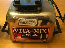 Vita-Mix Super 3600 Heavy Duty Stainless Steel Blender Mixer