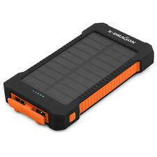 10000Mah Chargeur Batterie Externe De Secours Portatif Énergie Solaire Portable