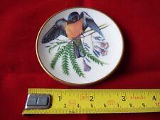 FRANKLIN PORCELAIN SONGBIRDS OF THE WORLD MINI PLATE. #9