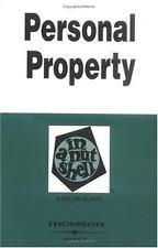 Personal Property in a Nutshell (Nutshells) Burke, Barlow Paperback