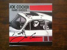 Joe Cocker Hard Knocks cd signed autographed by the artist Joe Cocker RIP #1