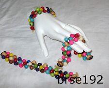 Açai & Morototó Seeds Handmade Bracelets withTriple Strand of