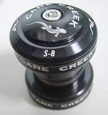 "CANE CREEK S8 S 8 S-8 HEADSET 28.6MM 1 1/8 "" NEW BLACK MTB BIKE NEW IN OEM BOX"