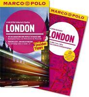 MARCO POLO Reiseführer LONDON 2015/16 + Landkarte, ungelesen wie neu