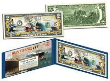 """RMS TITANIC """"100TH ANNIVERSARY 1912-2012"""" LEGAL TENDER U.S. $2 BILL! LIMITED!"""