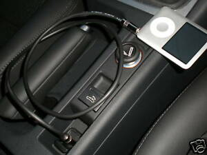 iPhone/Android to Car Aux input Cable/Lead (Jack - Jack) 0.75M Audi/Lexus Ect.