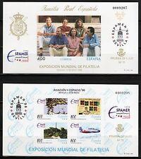 ESPAÑA PRUEBA F.N.M.T. 1996 Nº 58/59 ESPAMER 96 Y AVIACIÓN/ESPACIO