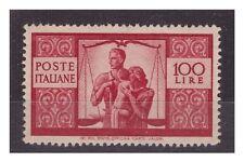ITALIA 1946 - DEMOCRATICA  Lire  100   NUOVO  *