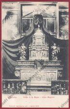 MILANO LEGNANO 47 INTERNO CHIESA - ALTARE Cartolina primi '900