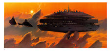 STAR WARS MCQUARRIE EMPIRE - 55 X 25 CM - ILLUSTRATION N°18 PORTFOLIO - VINTAGE
