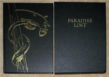 PARADISE LOST ~ JOHN MILTON ~ ILLUSTRATED ~ FOLIO SOCIETY ~ GIFT EDITION ~ NICE!