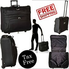 Travel Rolling Garment Bag Select Luggage Amsterdam Business One Size New Black