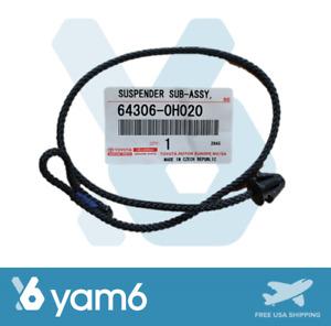 GENUINE NEW TOYOTA AYGO OEM PARCEL SHELF STRING 64306-0H020, 643060H020