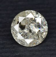3.00 Ct Certified Round Cut Solitaire Loose Diamonds 100% Natural Untreated