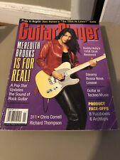 guitar player magazine Nov 1999