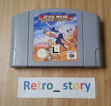 Nintendo 64 N64 Star Wars Rogue Squadron PAL