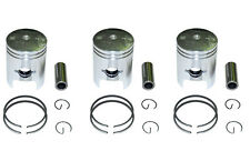 KAWASAKI KH250 S1 0.5mm OVERSIZE PISTONS SET 3 PISTONS INCLUDE CI-KH250PS-1