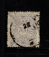 Brazil SC# 97, Used, very large page remnant, toned - S8103