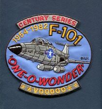 MCDONNELL F-101 VOODOO USAF US AIR FORCE TFS FIS Fighter Squadron Jacket Patch