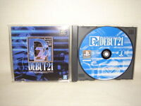 DEBUT 21 PS1 Playstation PS Import JAPAN Video Game p1