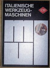 Italienische Werkzeugmaschinen Katalog 1970 Unione Construttori Italiani Italien