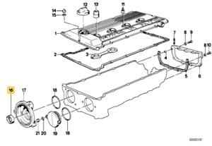 BMW Camshaft Seal OES 11141271415