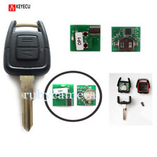 Remote Key 2B 433.92MHz +Transponder ID40 for Opel Vauxhall Astra Vectra HU46
