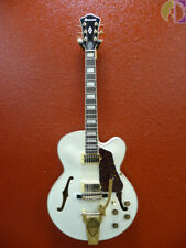 Ibanez AF75TDG Hollowbody Electric Guitar, Ivory, Free Shipping Lower 48 States