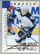 1998 PINNACLE HOCKEY RENOIT HOGUE AUTO