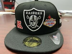 Las Vegas Raiders Fitted hat Size 7 Locals Only LIMITED-EDITION. SOLD OUT