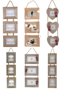 Rustic Double Picture Frames Frames For Sale Ebay