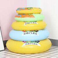 1pc Swimming Rings Beach Inflatable Float Circle Water Fun Seat Float Ri-vJCAU