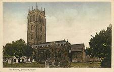 Vintage Postcard The Church Bishops Lydeard Somerset, England UK