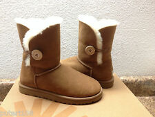 ugg bailey button chestnut damen stiefel usa 11/eu 42/uk 9.5 - nib
