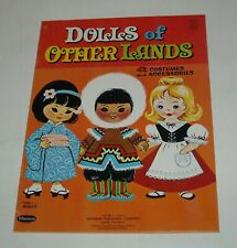 1963 WHITMAN DOLLS of OTHER LANDS PAPER DOLLS BOOKLET UNUSED CLEAN HIGH GRADE