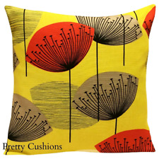 Sanderson Dandelion Clocks Yellow Cushion Cover