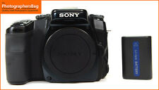 Sony Alpha A100 10MP DSLR Camera Body Battery  Free Uk Post