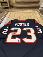 Arian Foster Autographed/Signed Jersey Houston Texans